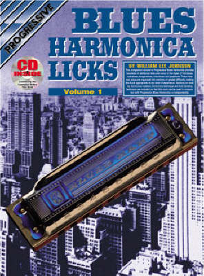 Progressive Blues Harmonica Licks: Volume 1 / CD Pack by Johnson image