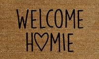 Natural Fibre Doormat - Welcome Homie image