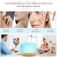 USB LED Light Ultrasonic Air Aroma Humidifier