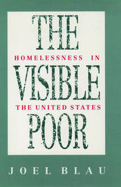 The Visible Poor by Joel Blau image