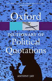 Oxford Dictionary of Political Quotations image