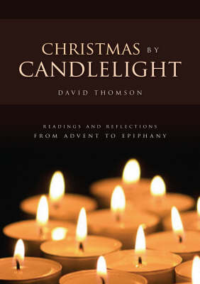 Christmas by Candlelight by David Thomson image