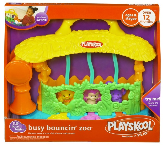 Playskool Busy Basics Busy Bouncin' Zoo