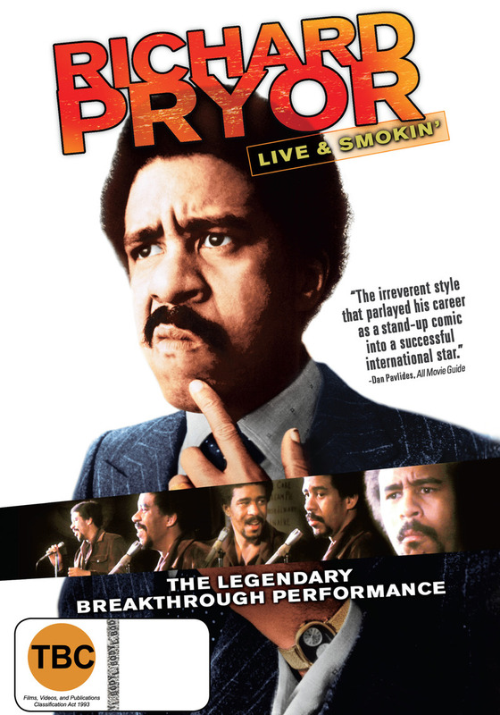Richard Pryor: Live & Smokin' on DVD