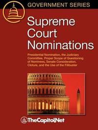Supreme Court Nominations by Denis Steven Rutkus