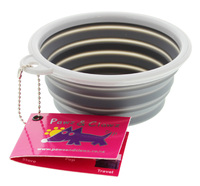 Pop Up Pet Bowl - Grey (350ml)