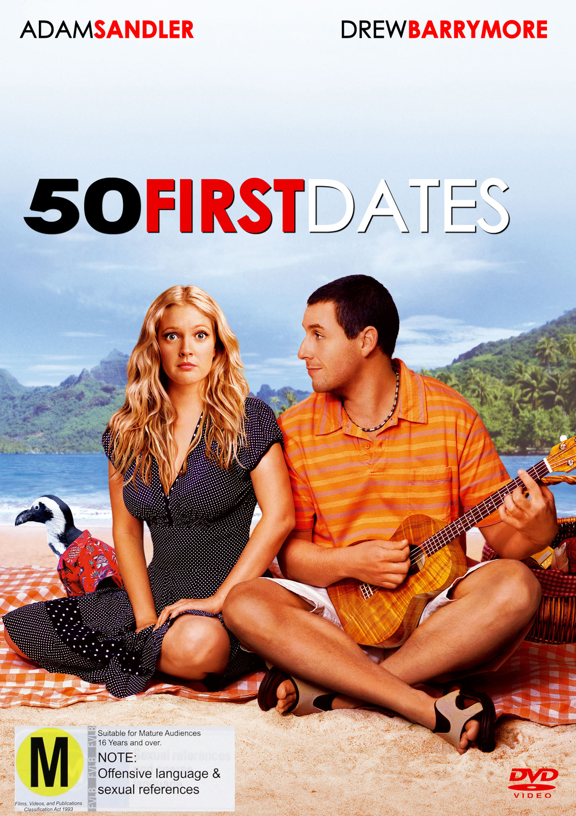 50 First Dates on DVD image