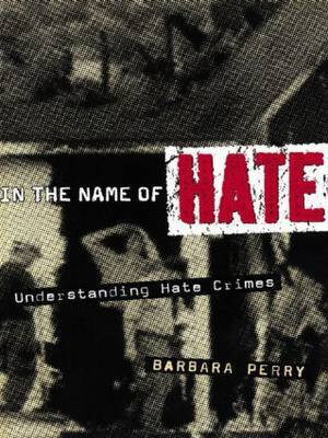 In the Name of Hate by Barbara Perry image