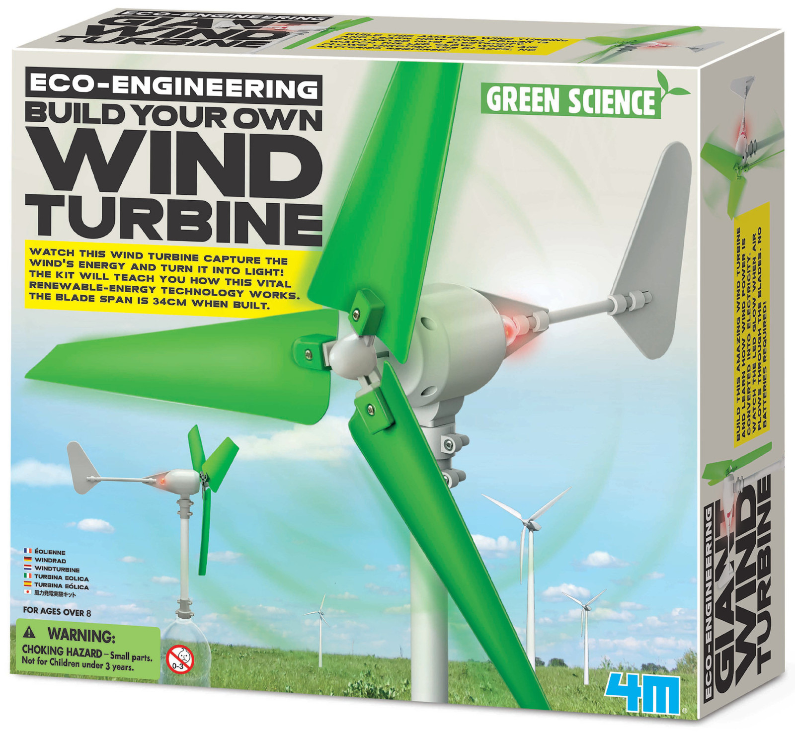 4M: Green Science Build Your Own Wind Turbine image