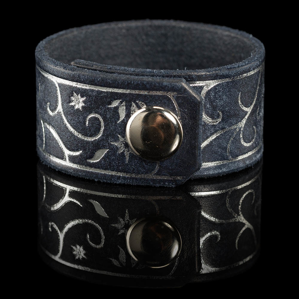Lord of the Rings: Leather Cuff - Gondor Tree image