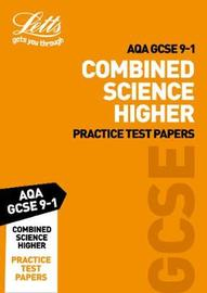 AQA GCSE Combined Science Higher Practice Test Papers by Letts GCSE image