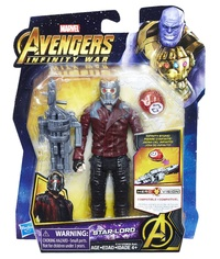 "Avengers Infinity War: Star Lord - 6"" Action Figure"