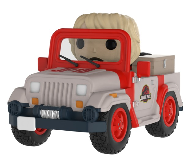 Jurassic Park: Park Vehicle - Pop! Ride Vinyl Figure