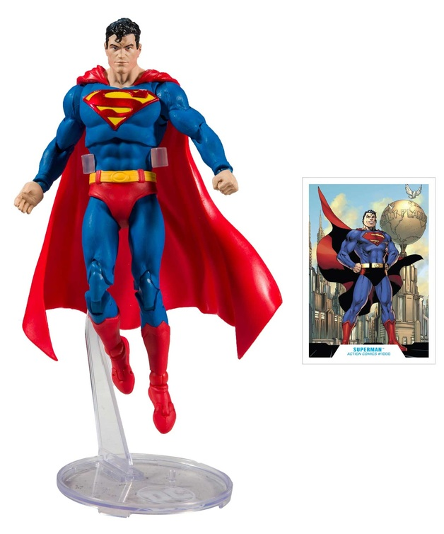 "DC Multiverse: Superman (Action Comics #1000) - 7"" Action Figure"