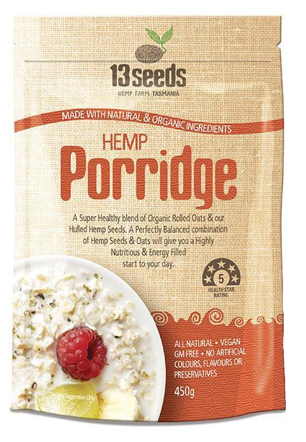 Hemp Porridge (450g)