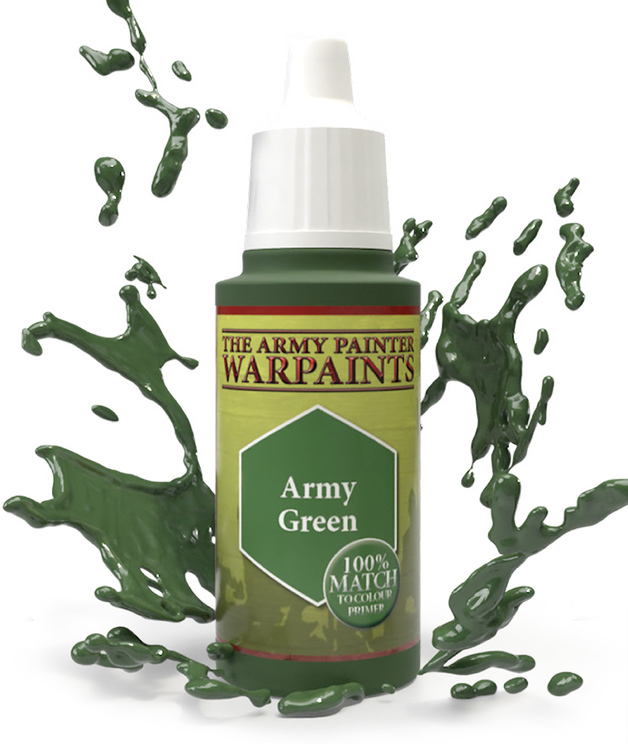 Army Painter: Warpaints - Army Green