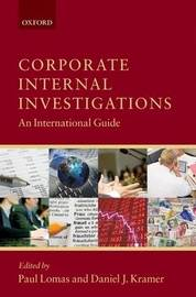 Corporate Internal Investigations: An International Guide image