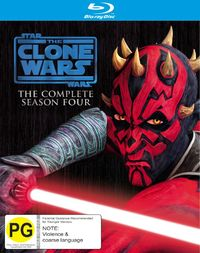 Star Wars: The Clone Wars - The Complete Fourth Season on Blu-ray image