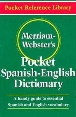 Merriam Webster's Pocket Spanish-English Dictionary by Merriam Webster image