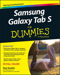 Samsung Galaxy Tab S For Dummies by Dan Gookin
