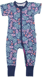 Bonds Zip Wondersuit Short Sleeves - Weekender (6-12 Months)