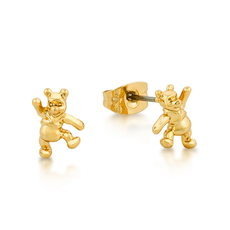 Couture Kingdom: Disney Junior Winnie the Pooh Studs - Yellow Gold image