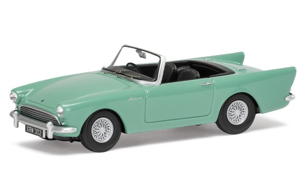 Corgi: 1/43 Sunbeam Alpine Green - Diecast Model