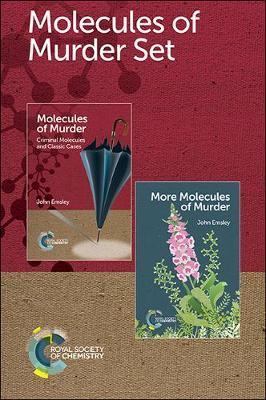 Molecules of Murder Set by John Emsley image
