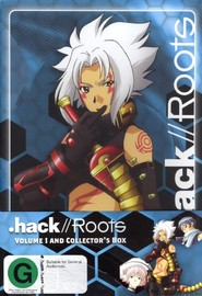 .Hack//Roots - Vol. 1 (Collector's Box) on DVD image