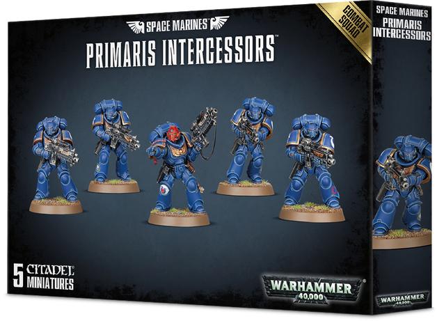 Warhammer 40,000 : Space Marines Primaris Intercessors Combat Squad