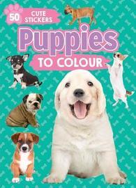 Puppies to Colour by Parragon Books Ltd image