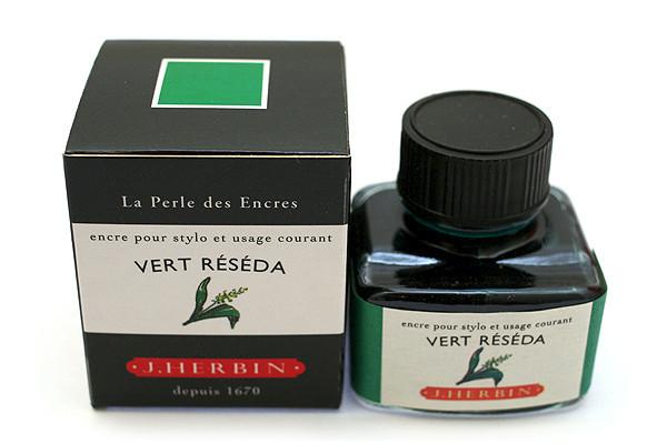 J Herbin: Fountain Pen Ink - Vert Reseda (30ml) image