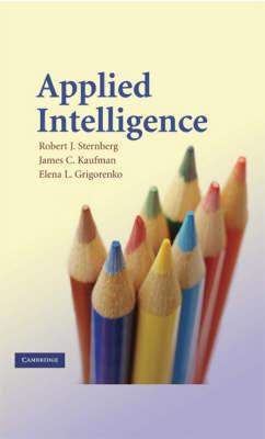 Applied Intelligence by Robert J Sternberg
