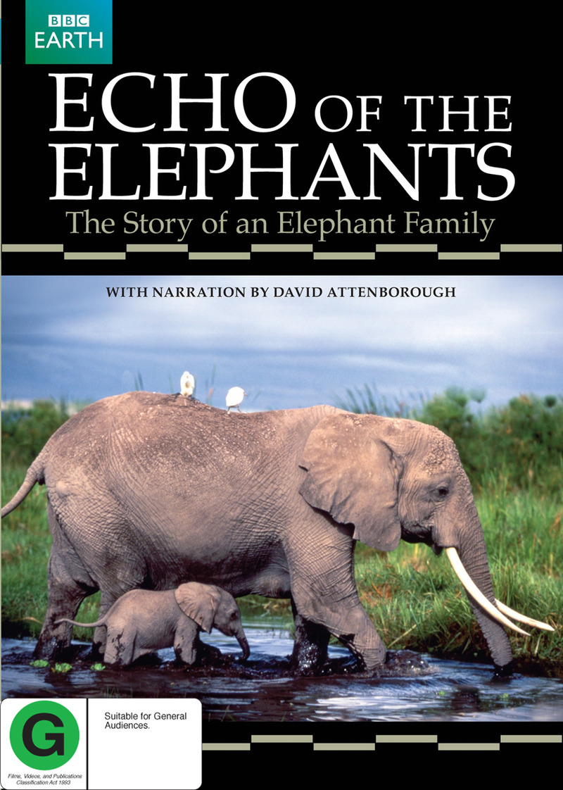 Echo Of The Elephants: Story Of An Elephant Family, The (BBC) on DVD image