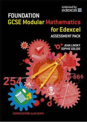 Edexcel GCSE Modular Maths: Foundation Assessment Pack by Jean Linsky image