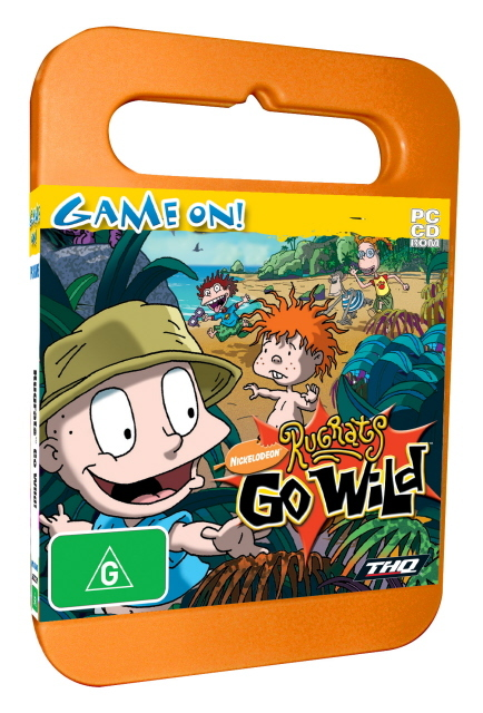 Rugrats Go Wild - Toy Case for PC Games
