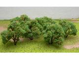 "JTT Scenic Orange Tree Grove 2""-2.25"" (6 pk) - H0 Scale"