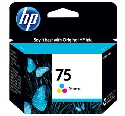 HP 75 Ink Cartridge CB337WA (Tri Color)