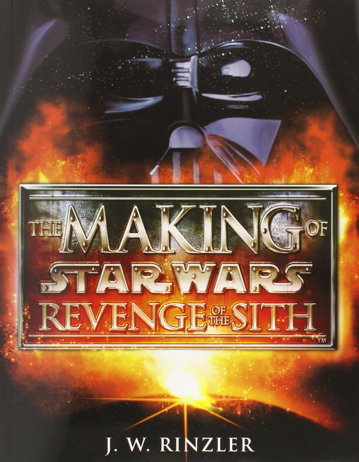 Making of Star Wars Episode III by J Rinzler image