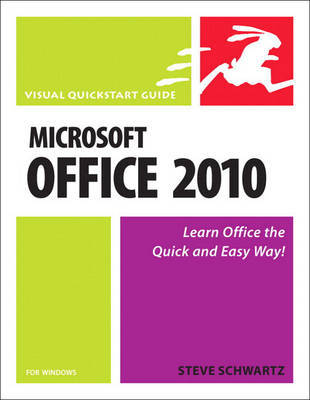 Microsoft Office 2010 for Windows by Steve Schwartz image