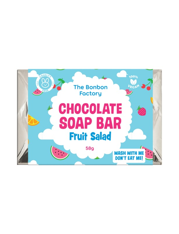 The Bonbon Factory Choc Soap Bar Slab - Fruit Salad