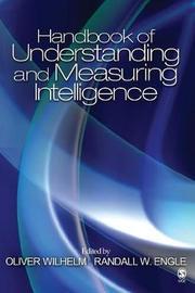 Handbook of Understanding and Measuring Intelligence image
