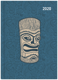 Collins: 2020 Daily A51 Diary - Maori Toanga (Light Blue) image