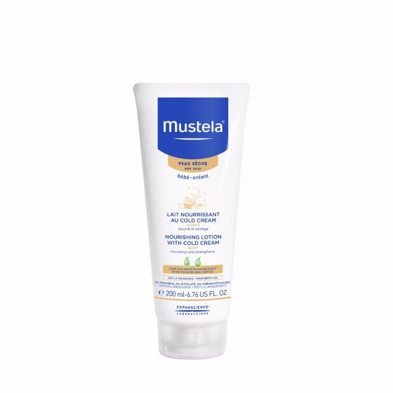Mustela: Nourishing Lotion with Cold Cream - 200ml