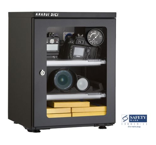 Akarui: Cabinet E40D - (with Analog Hygrometer)