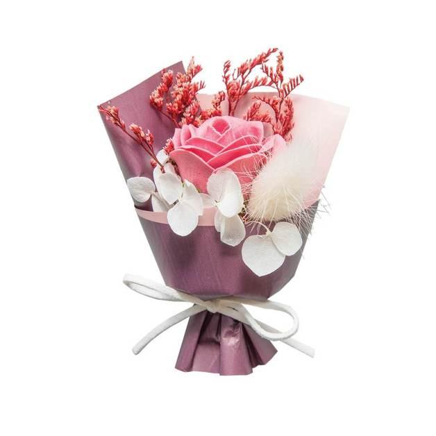 Short Story: Floral Bouquet Box - Dark Purple