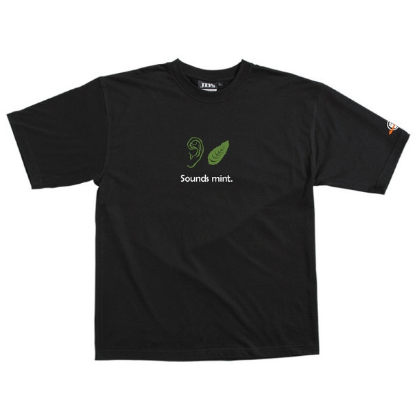 Sounds Mint - Tshirt (Black) for