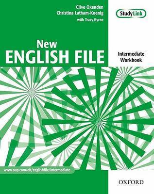 New English File: Intermediate level: Workbook with Answer Booklet and MultiROM Pack by Christina Latham-Koenig