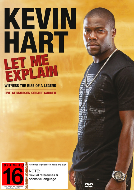 Kevin Hart Let Me Explain on DVD