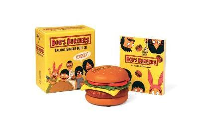 Bob's Burgers Talking Burger Button by Running Press image